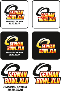 German Bowl XLII Logos Überblick