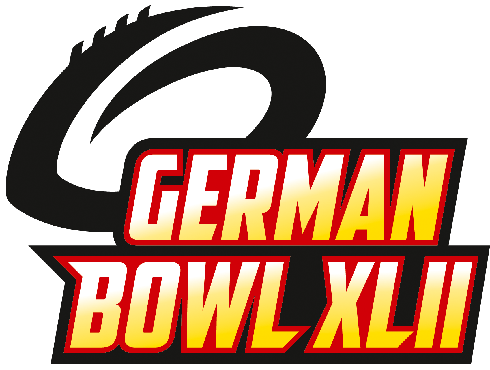 German Bowl XLII Logo Transparent