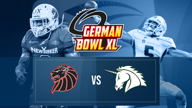 German Bowl XLI 2019 Teaser