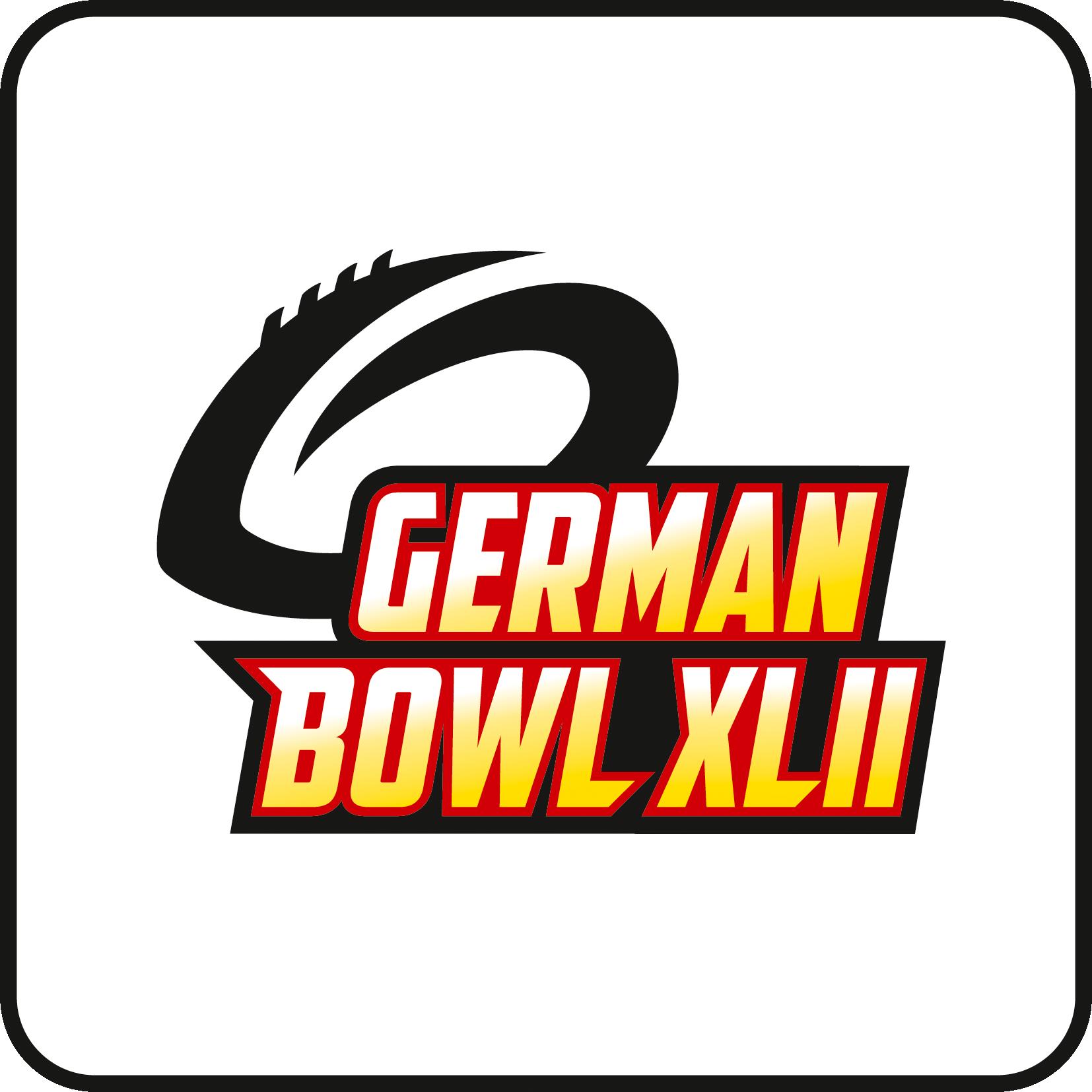 German Bowl XLII Logo Weiß